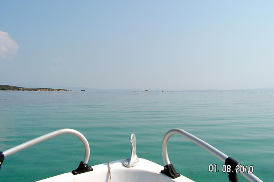 raus aufs Meer