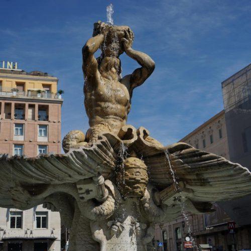 Tritonbrunnen Piazza Barbarini