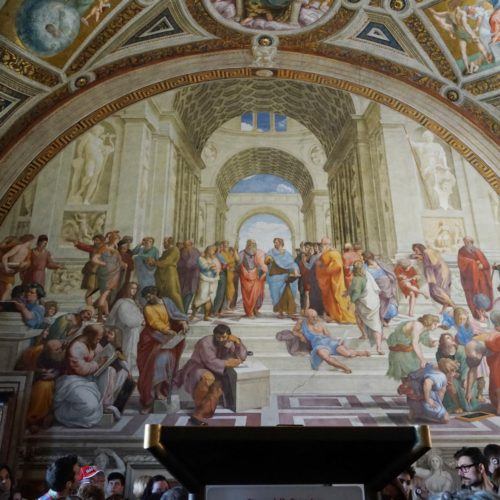 Vatikan- Schule von Athen