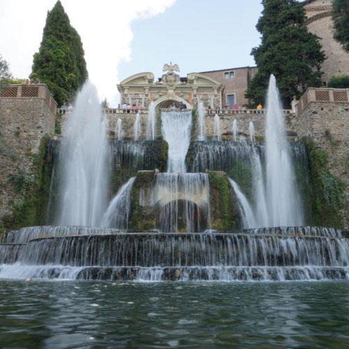 Villa d'Este, Neptunbrunnen, Tivoli