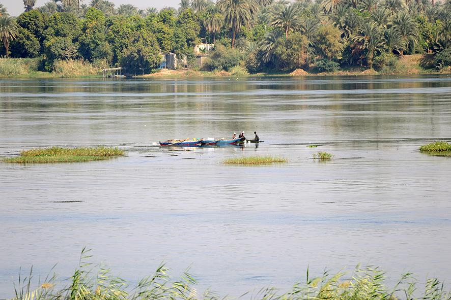 Nil die Lebensader dieses Landes