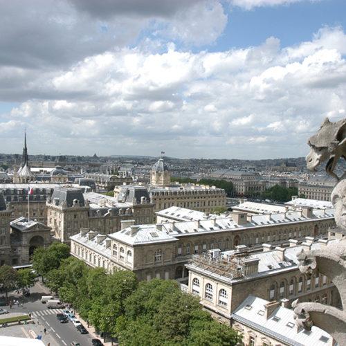 Blick von Notredame