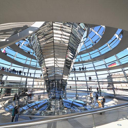 Kuppel Berliner Reichstag