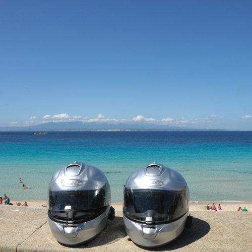 Sardinien-Blick auf Korsika