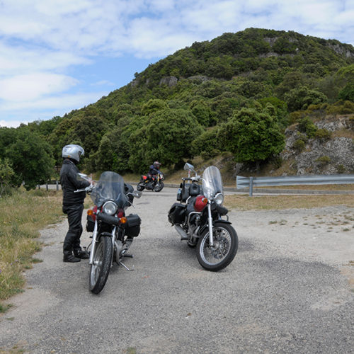 Bergstrassen in Sardinien