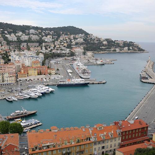der Hafen von Nizza