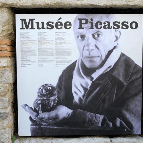 Antipes auf den Spuren von Picasso