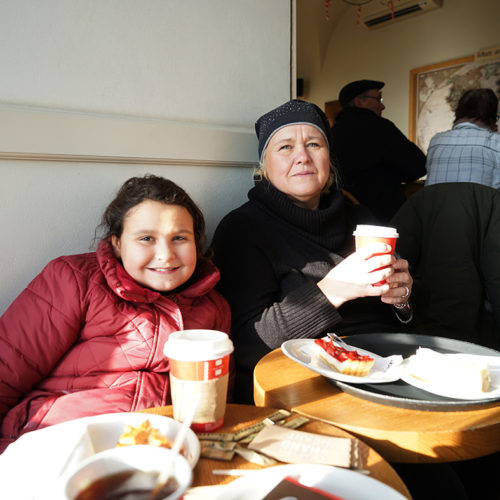 Starbucks am Hradschin