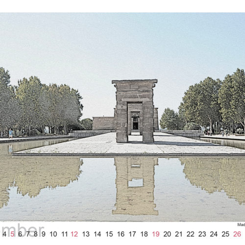 Madrid (Tempel von Debod)